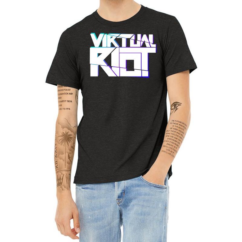 Virtual Riot Heather T-shirt | Artistshot