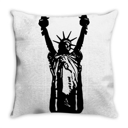 Statue Of Freedom Throw Pillow Designed By Estore