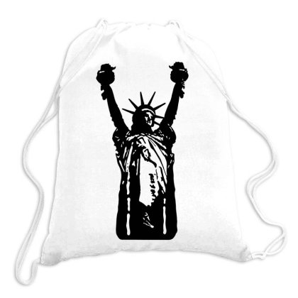 Statue Of Freedom Drawstring Bags Designed By Estore