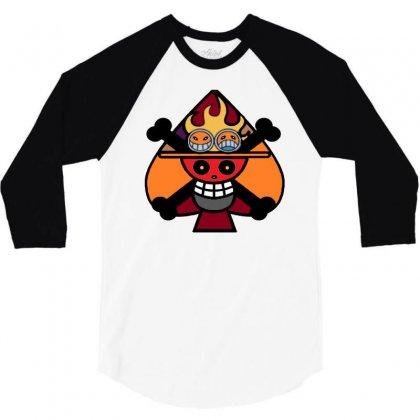 Ace2020 3/4 Sleeve Shirt Designed By Kasem