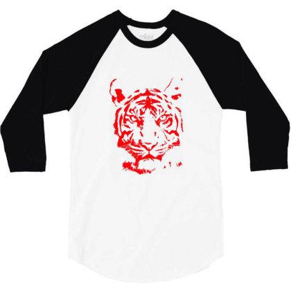Tiger 3/4 Sleeve Shirt Designed By Estore