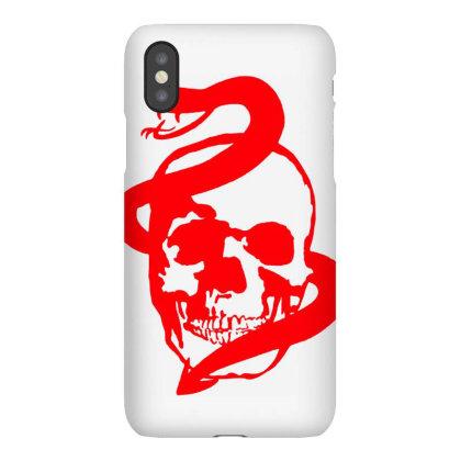 Skull, Snake Iphonex Case Designed By Estore