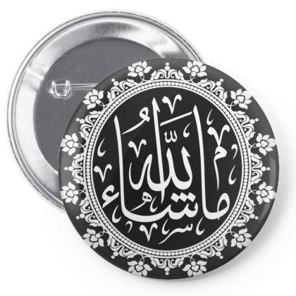 Mashallah, Islam Pin-back Button Designed By Estore