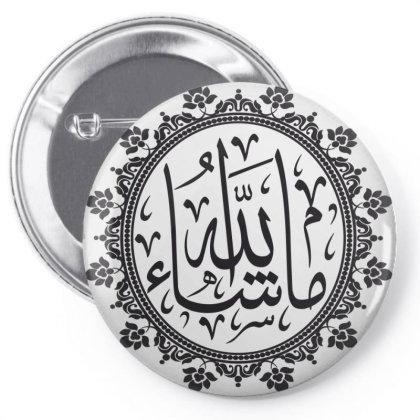 Mashallah Pin-back Button Designed By Estore