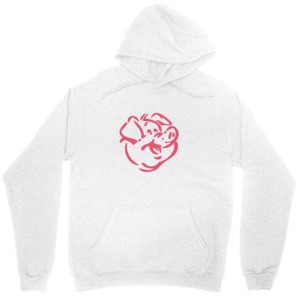 Pig Unisex Hoodie Designed By Estore