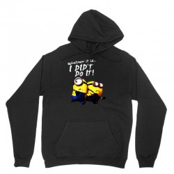 despicable me minions i didn't do it stuart dave Unisex Hoodie | Artistshot