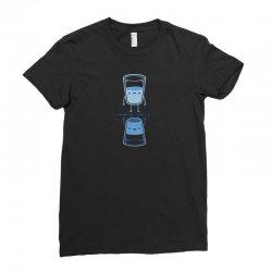 bright side Ladies Fitted T-Shirt   Artistshot