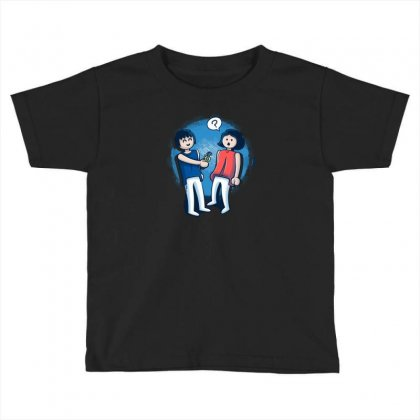 Click Love Toddler T-shirt Designed By Baron