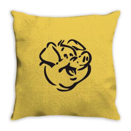 Pig Throw Pillow Designed By Estore