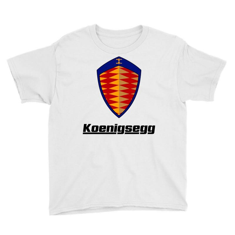 Koenigsegg Logo Youth Tee | Artistshot