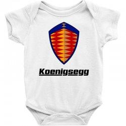 koenigsegg logo Baby Bodysuit | Artistshot