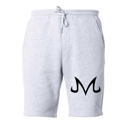 Majin Logo Black Fleece Short