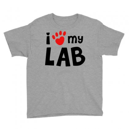I Love My Lab Labrador Youth Tee