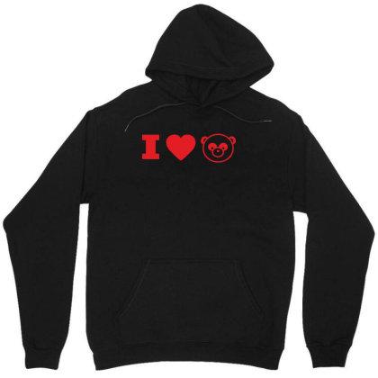 I Love Panda Unisex Hoodie Designed By Estore