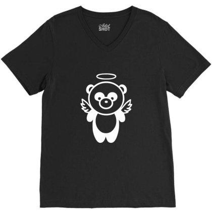 Panda V-neck Tee Designed By Estore