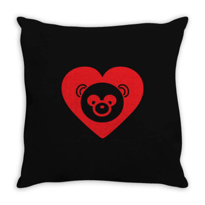 Panda Throw Pillow Designed By Estore