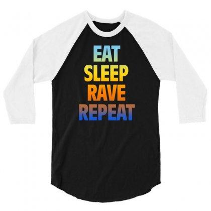 Rave 3/4 Sleeve Shirt Designed By Vanshop99
