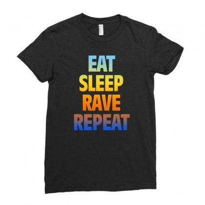 Rave Ladies Fitted T-shirt Designed By Vanshop99