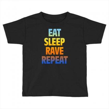 Rave Toddler T-shirt Designed By Vanshop99