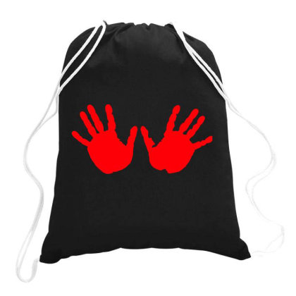 Hands Drawstring Bags Designed By Estore