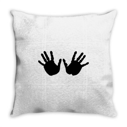 Hands Throw Pillow Designed By Estore