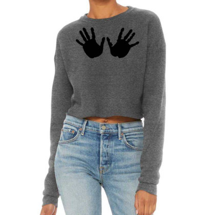 Hands Cropped Sweater Designed By Estore