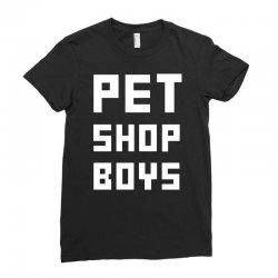 pet shop boy Ladies Fitted T-Shirt | Artistshot
