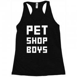 pet shop boy Racerback Tank | Artistshot