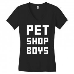 pet shop boy Women's V-Neck T-Shirt | Artistshot