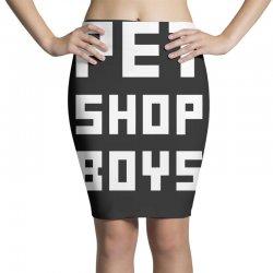 pet shop boy Pencil Skirts | Artistshot