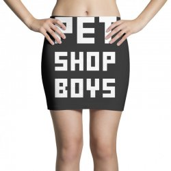 pet shop boy Mini Skirts | Artistshot