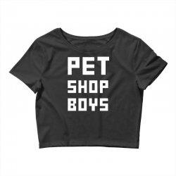 pet shop boy Crop Top | Artistshot
