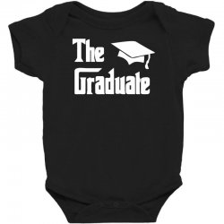 the graduate graduation funny Baby Bodysuit | Artistshot