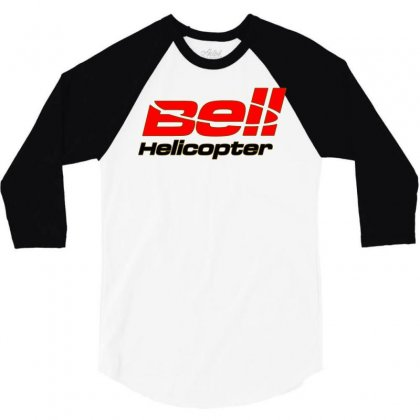 Bell Helicopter Textron 3/4 Sleeve Shirt Designed By Animestars