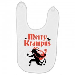merry krampus Baby Bibs   Artistshot