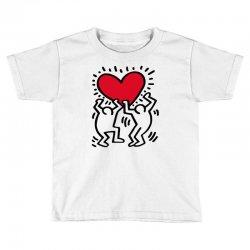 keith haring big love white Toddler T-shirt | Artistshot