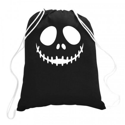 Nightmare Before Christmas Drawstring Bags Designed By Baron
