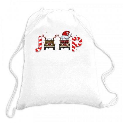 Jeep Christmas For Light Drawstring Bags Designed By Sengul