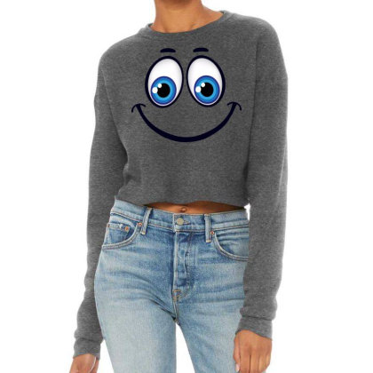 Smile Cropped Sweater Designed By Estore