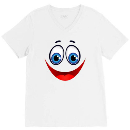 Smile V-neck Tee Designed By Estore