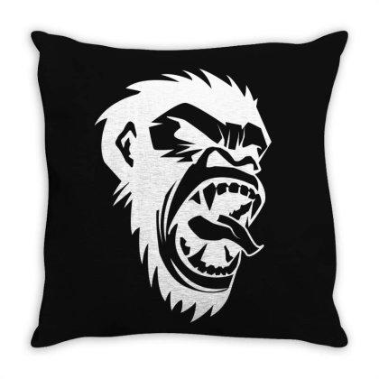 Monkey Throw Pillow Designed By Estore
