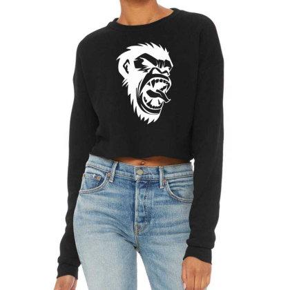 Monkey Cropped Sweater Designed By Estore