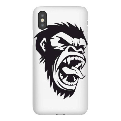 Monkey Iphonex Case Designed By Estore