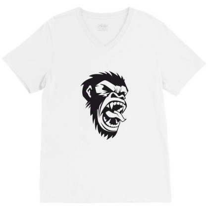 Monkey V-neck Tee Designed By Estore