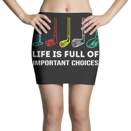 Choices Golf Mini Skirts Designed By Robertosupeno