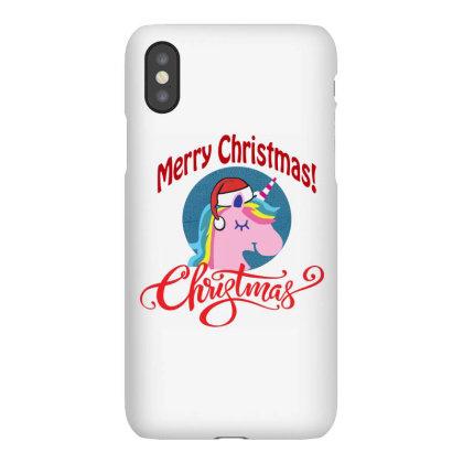 Unicorn Squad Merry Christmas Iphonex Case Designed By Kevin Design