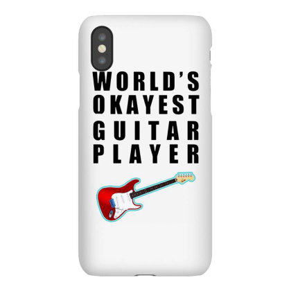 World's Okayest Guitar Player   For Light Iphonex Case Designed By Kevin Design