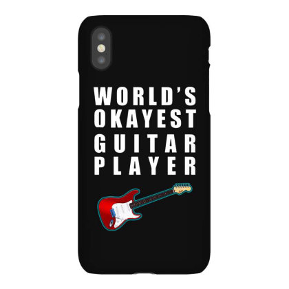 World's Okayest Guitar Player   For Dark Iphonex Case Designed By Kevin Design