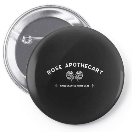 Rose Apothecary   White Pin-back Button Designed By Kevin Design