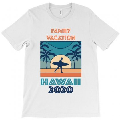 Surfer Family Vacation Hawaii 2020 T-shirt Designed By Kevin Design